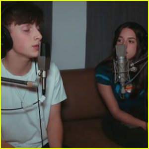 Johnny Orlando Debuts 'Live Sessions' With Kenzie Ziegler - Watch!