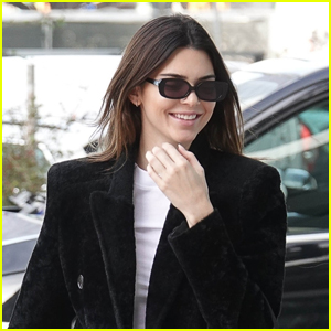 Kendall Jenner is All Smiles During Day Out in Milan