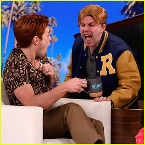 KJ Apa Gets Scared By His 'Riverdale' Character Archie On 'The Ellen Show' - Watch Now!