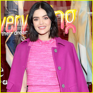 Lucy Hale Wraps Filming on 'Katy Keene' on Premiere Day!