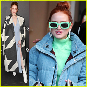 Madelaine Petsch Steps Out For Boss & Vogue Italia Party After Travis Mills Split