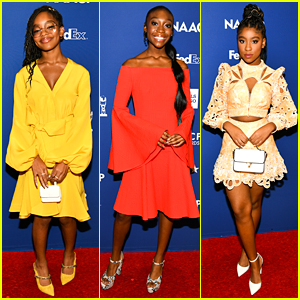 Marsai Martin, Shahadi Wright Joseph & More Celebrate NAACP Award Nominations