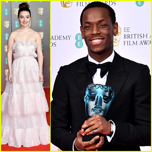 Kaitlyn Dever Hits Red Carpet at BAFTAs 2020 in Fairytale Gown