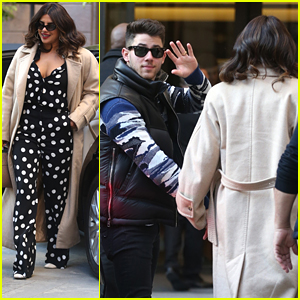 Nick Jonas & Priyanka Chopra Enjoy Valentine's Day Lunch in Milan