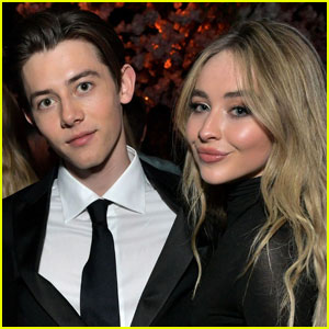 Sabrina Carpenter Supports Griffin Gluck at 'Locke & Key' Premiere