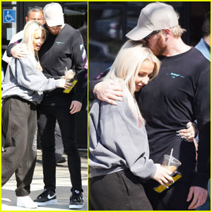 Tana Mongeau Gets a Kiss From Ex Jake Paul's Brother Logan