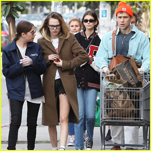 Ashley Benson & Cara Delevingne Team Up with Kaia Gerber To Stock Up On Groceries!