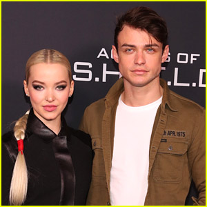 Dove Cameron Cures The Blues Country Dancing With Thomas Doherty (Video)