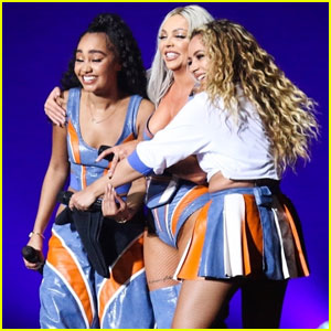 Little Mix Take the Stage Without Perrie Edwards in Brazil