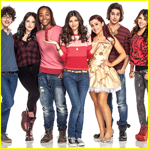 Ariana Grande Joins Victoria Justice & 'Victorious' Cast in Celebrating 10 Year Anniversary!