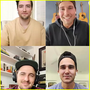 Big Time Rush Reunite Virtually To Share Message During Quarantine!