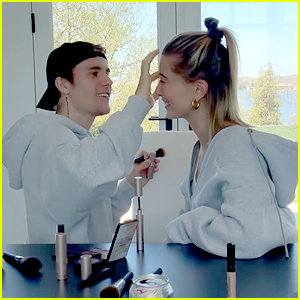 Hailey Bieber Gets Her Makeup Done By Husband Justin in New 'Biebers on Watch'