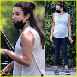 Lea Michele Shows Off Baby Bump on Afternoon Hike