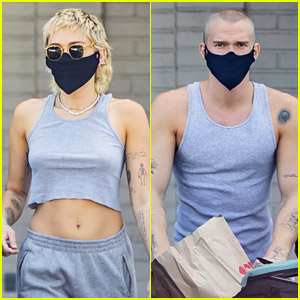 Miley Cyrus & Cody Simpson Are Totally Twinning in These New Photos!