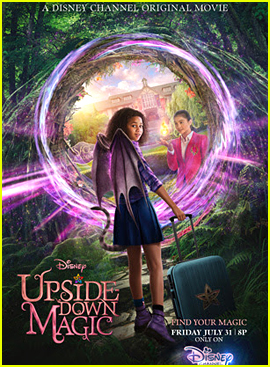 Siena Agudong & Izabela Rose Star In 'Upside-Down Magic' Trailer - Watch Now!