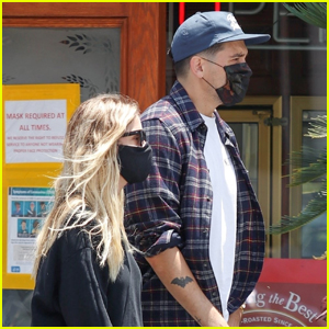 Ashley Benson Grabs Lunch with Boyfriend G-Eazy & Some Friends