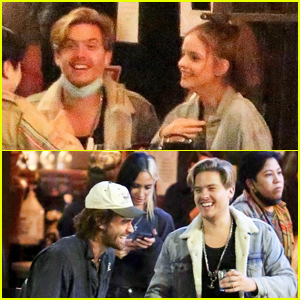 Dylan Sprouse & Girlfriend Barbara Palvin Grab Dinner with KJ Apa!