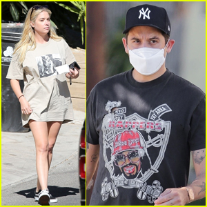Ashley Benson Spends the Afternoon with Boyfriend G-Eazy