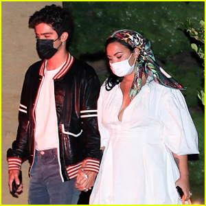 Demi Lovato Has Date Night Out With Fiance Max Ehrich
