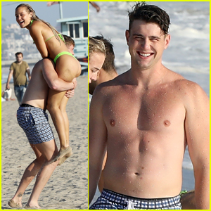 TikTok's Olivia Ponton Hits the Beach with Harry Jowsey - See the Photos!