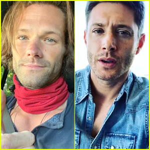 Jared Padelecki & Jensen Ackles Start Filming 'The End' of 'Supernatural'