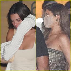 Kendall & Kylie Jenner Join Devin Booker for Dinner!