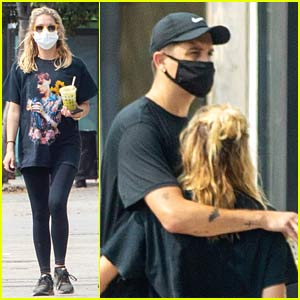 Ashley Benson Gets Smoothies with G-Eazy After a Hike