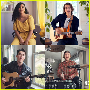 Julie & The Phantoms Perform Acoustic Version of 'Edge Of Great' - Watch Now!
