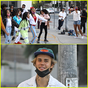 A Group of Justin Bieber Fans Got A Big Surprise From The Singer Today!