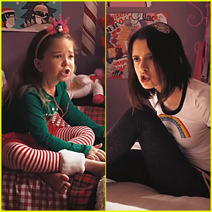Laura Marano Gets In a Shushing Fight In New 'The War With Grandpa' Clip - Watch!