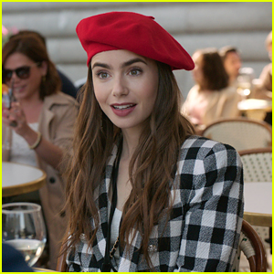 Lily Collins Reveals 'Emily In Paris' Release Date & Teaser Trailer!