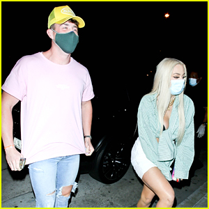 Tana Mongeau Grabs Dinner With Too Hot To Handle's Harry Jowsey