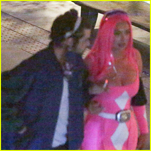 Noah Centineo Attends Halloween Party with Stassie Karanikolaou, Packs on PDA!