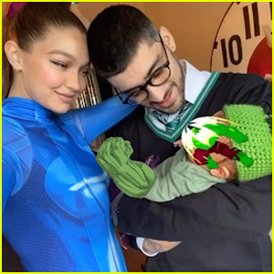 Gigi Hadid Shares Pic of Zayn Malik & Their Daughter in Halloween Costumes!