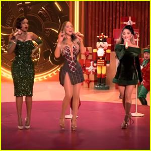 Ariana Grande Teams Up With Mariah Carey & Jennifer Hudson For 'Oh Santa!' - New Music Friday 12/4