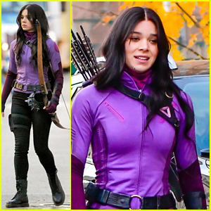 Hailee Steinfeld Turns Into Kate Bishop On 'Hawkeye' Set In NYC