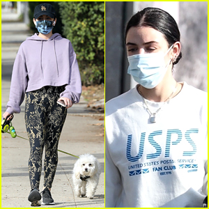 Lucy Hale Is Back In Los Angeles After a Couple Months In New York!