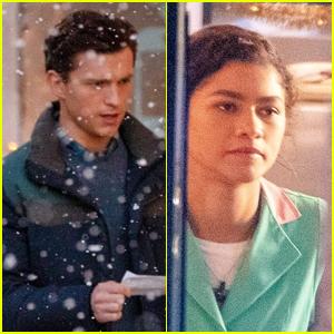 Tom Holland & Zendaya Shoot Scenes Together For 'Spider-Man 3'
