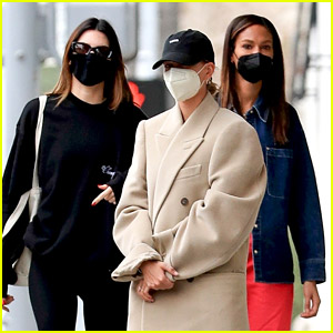 Kendall Jenner Spends the Morning with Hailey Bieber & Joan Smalls!