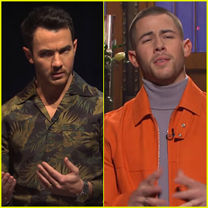 Kevin Jonas Asks If The Jonas Brothers Are Still Together During Nick's 'SNL' Monologue - Watch Now!