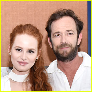 Madelaine Petsch Shares Advice Luke Perry Gave Her About Dealing With Haters