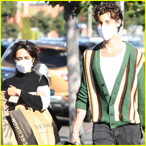 Camila Cabello & Shawn Mendes Spend the Day Running Errands