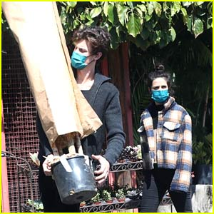 Shawn Mendes Does the Heavy Lifting While Plant Shopping with Camila Cabello!