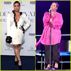 Demi Lovato Performs 'Dancing With The Devil' at YouTube Docu-Series Premiere