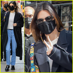 Kendall Jenner Steps Out in Cool Casual Look for Lunch