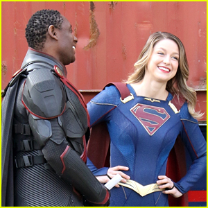 Melissa Benoist Gets To Work On Final Season of 'Supergirl' - First Look Photos!