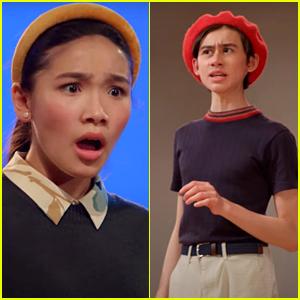Nathan Janak & Telci Huynh Bring The Dramatics In First 'Drama Club' Teaser Clip