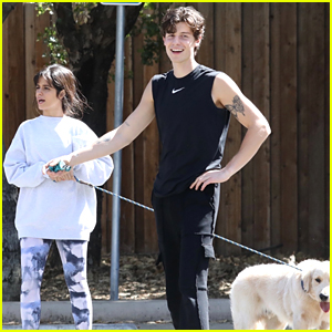 Shawn Mendes & Camila Cabello Kick Off Their Weekend With a Hike!