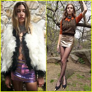 Hailey Bieber & Talia Ryder Head Outdoors For Virtual Saint Laurent Fashion Show