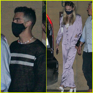 Joe Jonas & Sophie Turner Are Back In LA, Go To Dinner In Malibu With Friends!